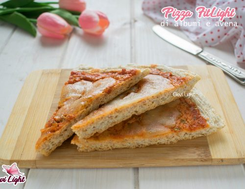 Pizza FitLight di albumi e avena