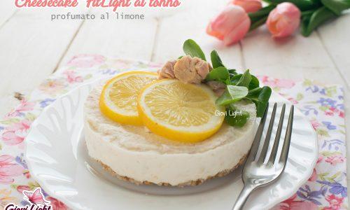 Cheesecake FitLight al tonno profumato al limone