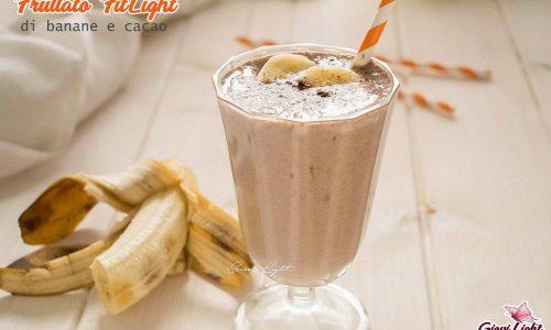 Frullato FitLight di banane e cacao
