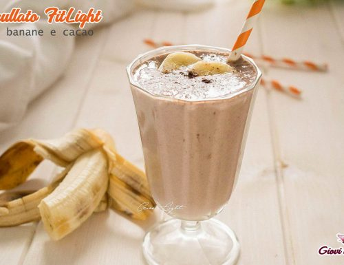 Frullato FitLight di banane e cacao CON IL BIMBY e senza