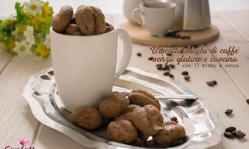 Biscotti chicchi di caffè senza glutine e caseina – con il Bimby e senza
