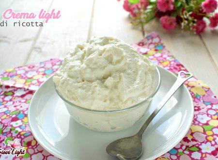 Crema light alla ricotta, per farcire e decorare dolci