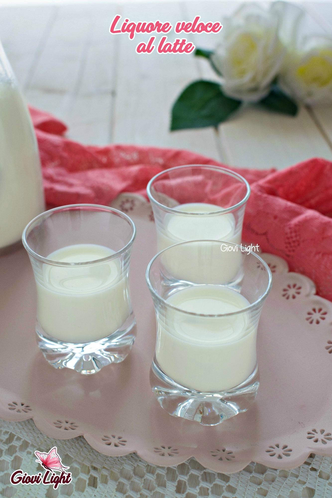 Liquore veloce al latte