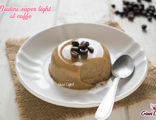 Budini super light al caffè – senza grassi, zucchero e a basso ig!