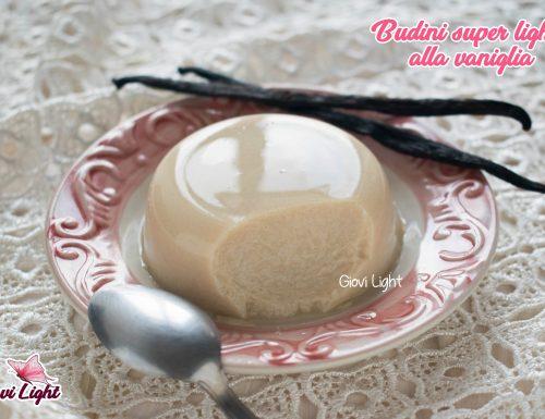 Budini super light alla vaniglia – senza grassi, zucchero e a basso ig!
