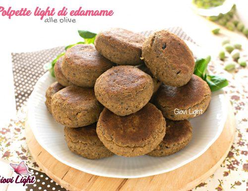 Polpette light di edamame alle olive – con il bimby e senza