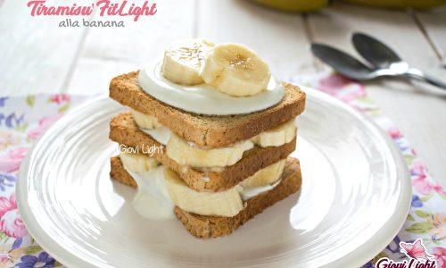 Tiramisù FitLight alla banana