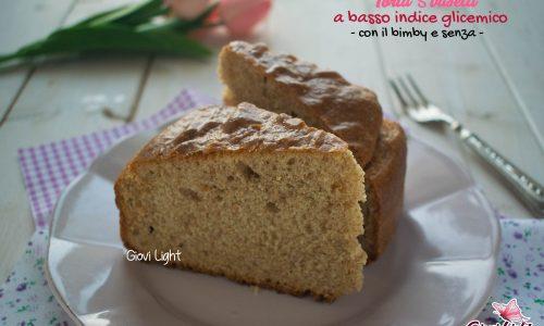 Torta 5 vasetti a basso indice glicemico – con il bimby e senza