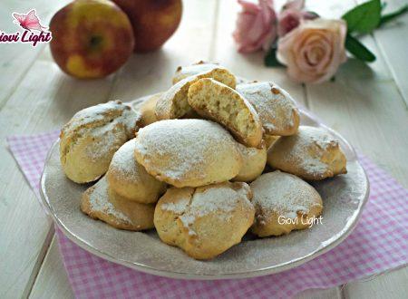 Biscotti soffici light alle mele e avena - senza zucchero, latte e uova!