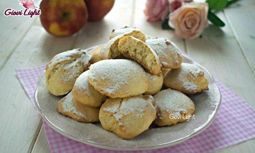 Biscotti soffici light alle mele e avena – senza zucchero, latte e uova!