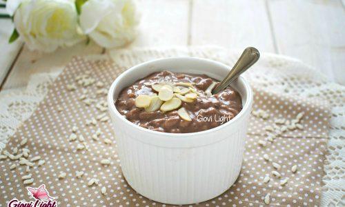 Risolatte light al cacao e cannella – senza glutine, caseina, zucchero e grassi!