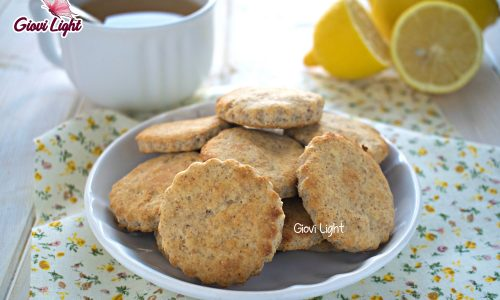 Biscotti leggeri al limone