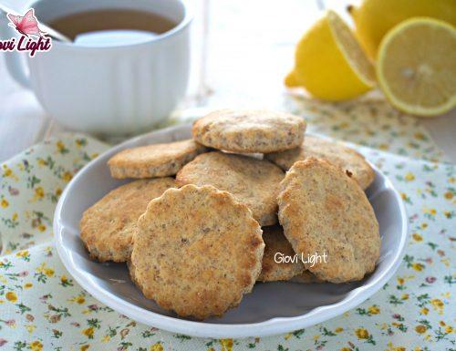 Biscotti leggeri al limone NELLA FRIGGITRICE AD ARIA