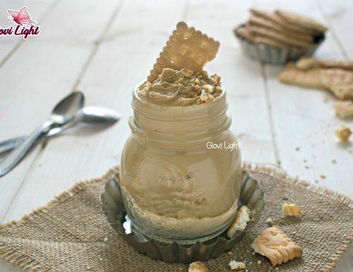 Cheesecake light al caffè in vasetto