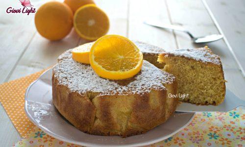 Torta 10 cucchiai di farro all'arancia con il bimby e senza