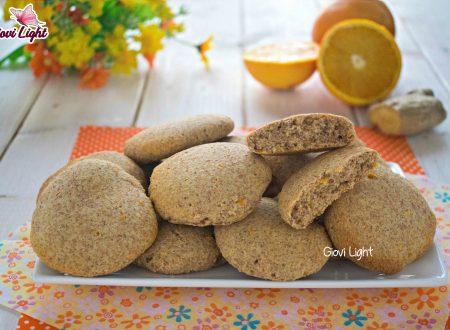 Biscotti integrali light di arancia e ricotta - con il bimby e senza