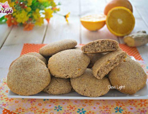 Biscotti integrali light di arancia e ricotta – con il bimby e senza NELLA FRIGGITRICE AD ARIA