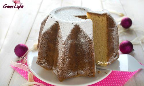 Torta Pandoro alla vaniglia con il bimby e senza