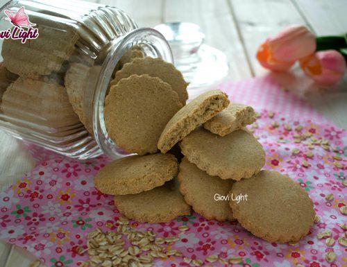 Biscotti fitlight di avena al limone NELLA FRIGGITRICE AD ARIA