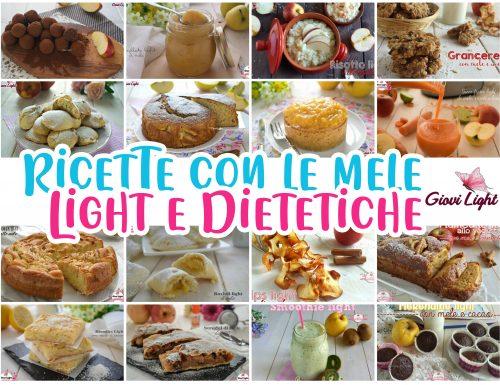 RICETTE CON LE MELE LIGHT E DIETETICHE
