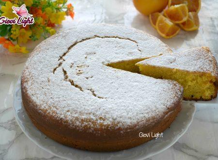 Pan d'arancio light senza zucchero, uova e latte - con il bimby e senza