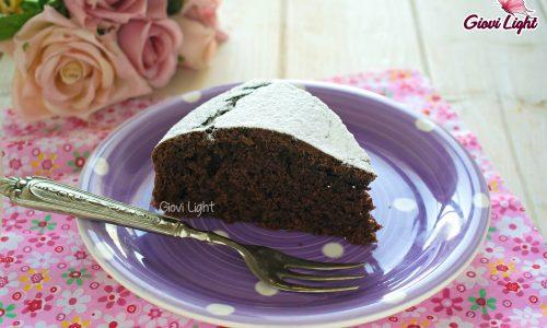 Torta 12 cucchiai light al cacao – con il bimby e senza