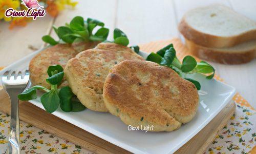 Burger light di platessa e patate al profumo di limone