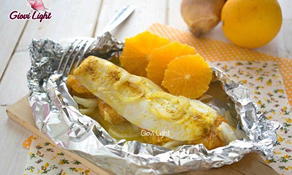 Merluzzo light all'arancia cotto a vapore – con il bimby e senza