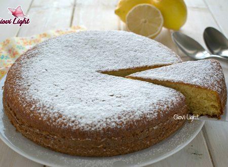 Torta 12 cucchiai light al limone, con il bimby e senza
