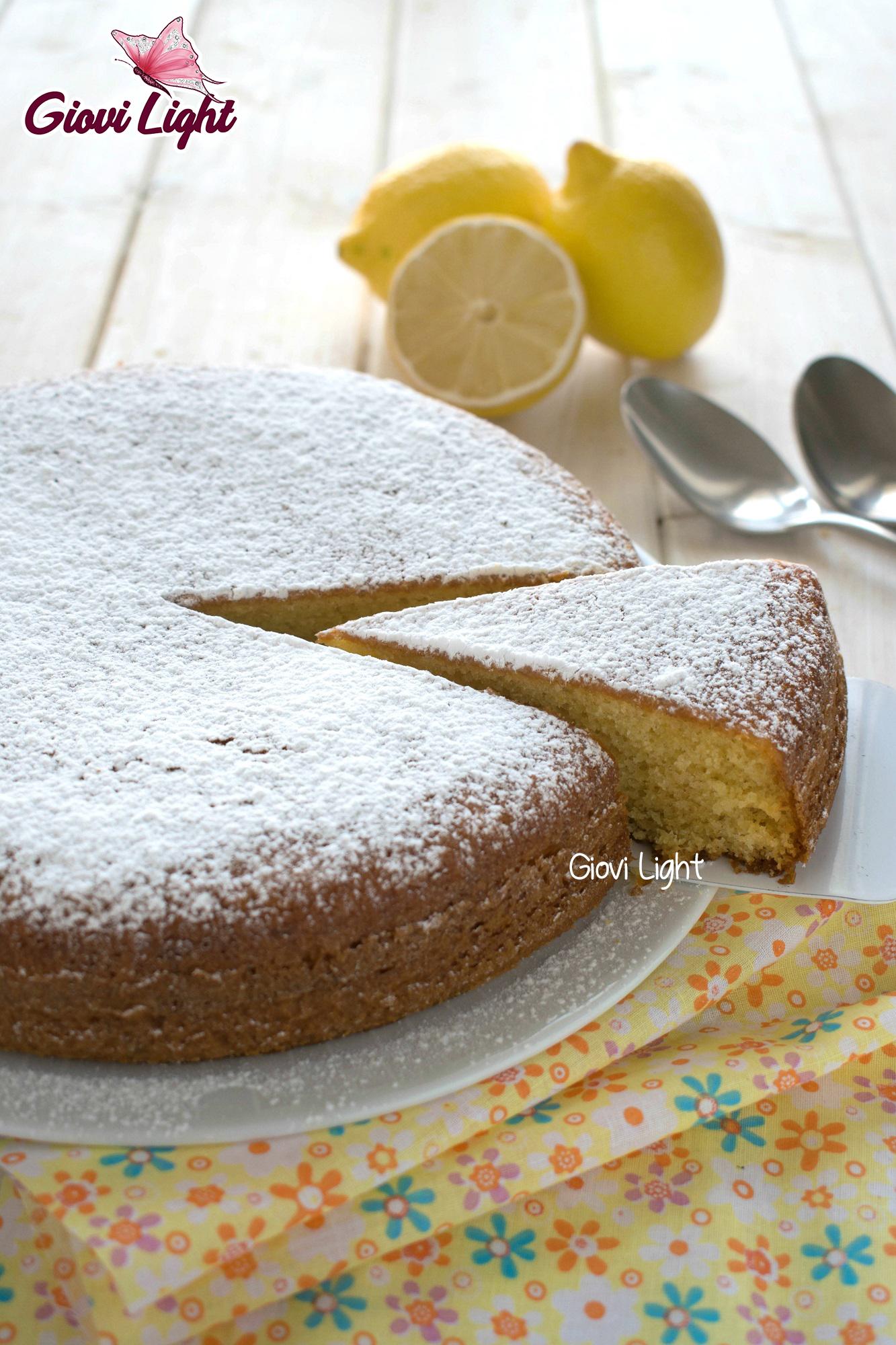 Torta Light Bimby.Torta 12 Cucchiai Light Al Limone Con Il Bimby E Senza