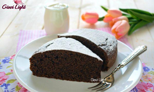 Torta light yogurt e cacao – con il bimby e senza