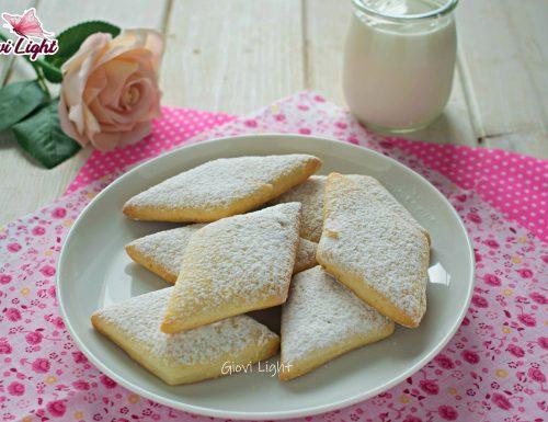 Biscotti light yogurt e vaniglia con il bimby e senza NELLA FRIGGITRICE AD ARIA