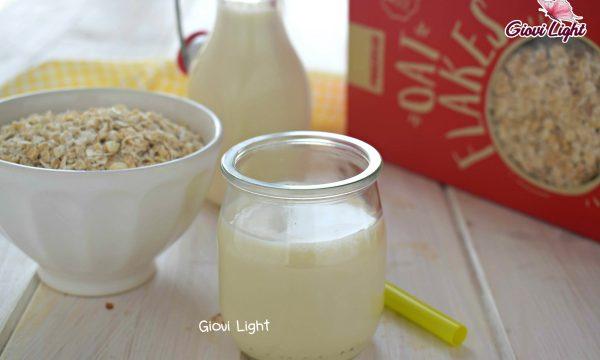 Latte di avena al naturale – con il bimby e senza