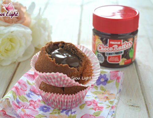 Muffin FitLight di banane, cacao e noci con dolce sorpresa