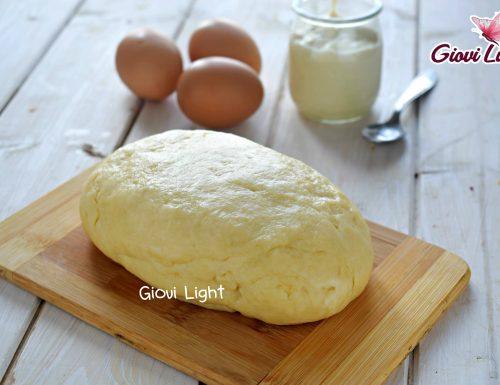 Pasta frolla LIGHT allo yogurt con il bimby e senza