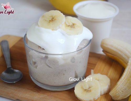 Gelato LIGHT yogurt e banana CON IL BIMBY e senza