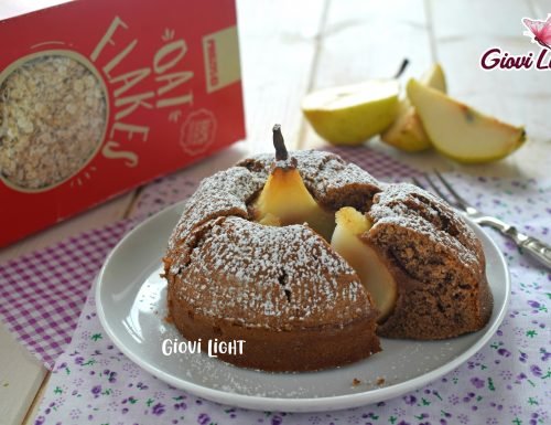 Cicciopancake FitLight pera e cacao- NELLA FRIGGITRICE AD ARIA e senza!
