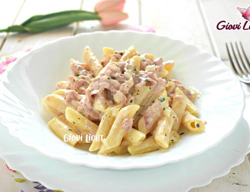 Penne al baffo LIGHT