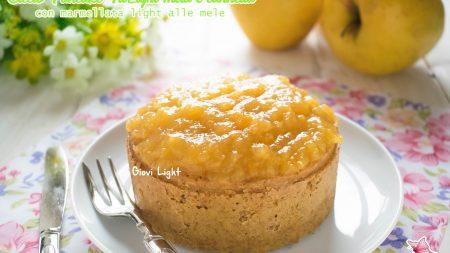 Ciccio Pancake FitLight mela e cannella con marmellata light alle mele