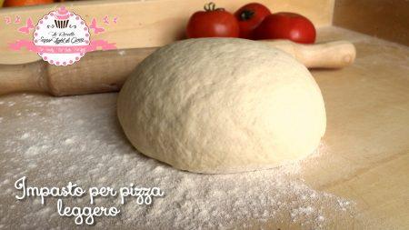 Impasto leggero per pizza