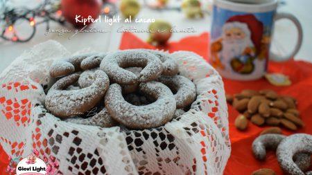Kipferl light al cacao senza glutine, latticini e lievito