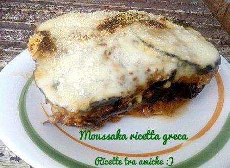 Moussaka ricetta greca