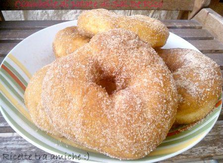 Ciambelle dolci di patate