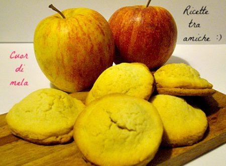 Biscotti cuor di mela bimby