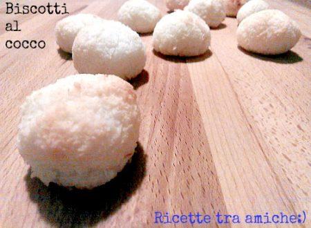 Biscotti al cocco pronti in cinque minuti