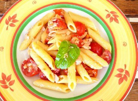 Pasta fredda tonno e pomodori