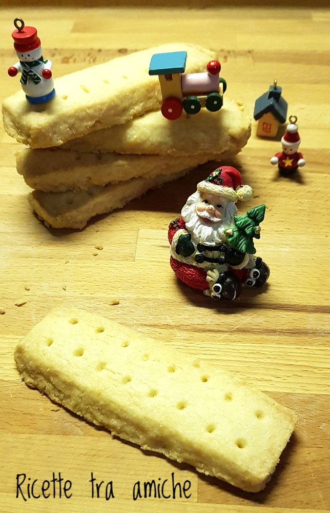 Scottish Shortbread biscotti scozzesi 1