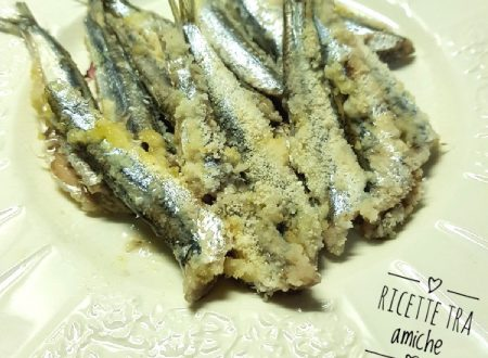 Alici in tortiera ricetta napoletana