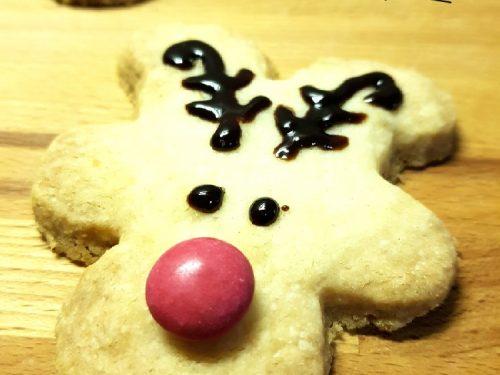 Renna biscotti di Natale