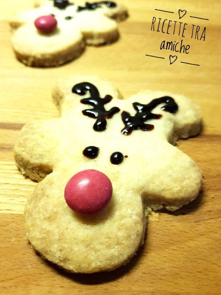 Renna biscotti di Natale.